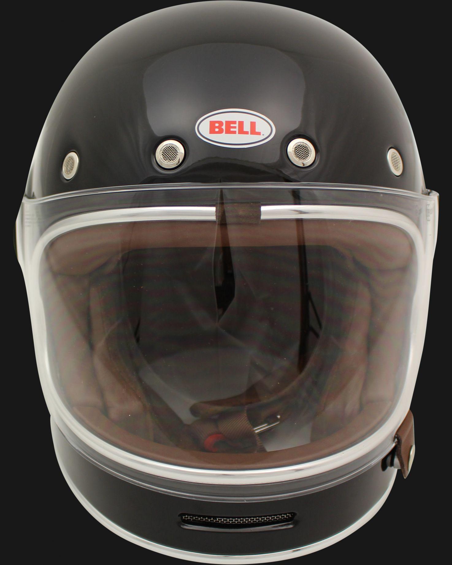 bullitt integral helm glanz schwarz denim iron. Black Bedroom Furniture Sets. Home Design Ideas