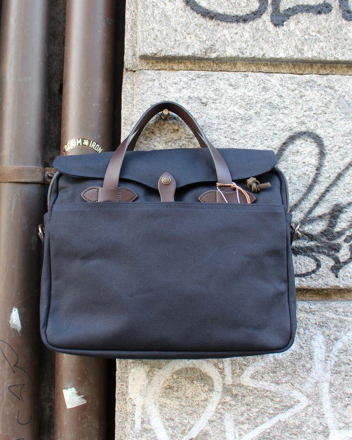 Filson Original Briefcase rugged twill navy_1