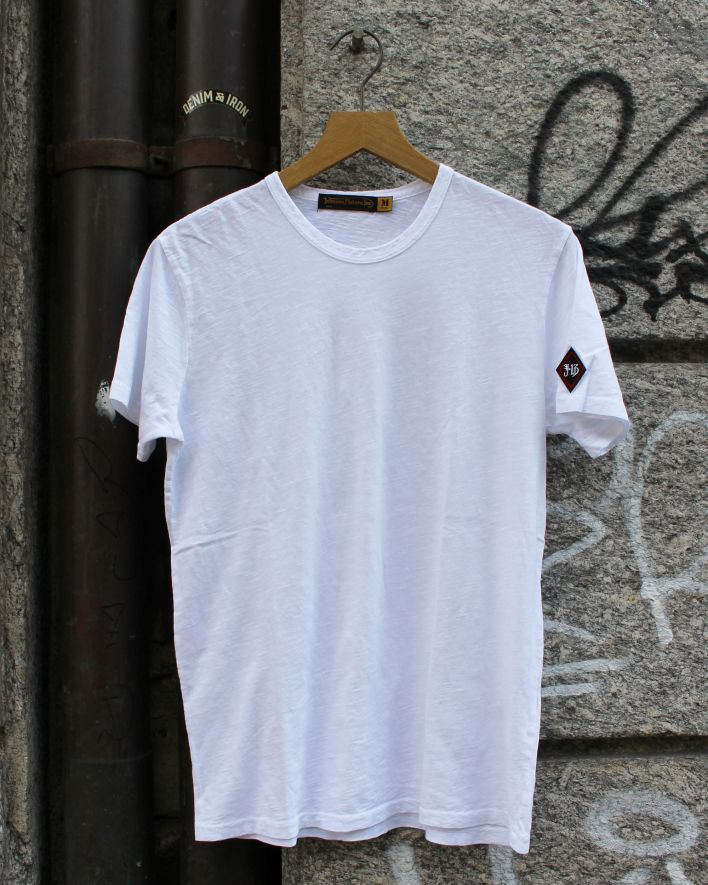 Johnson Motors Blank T-Shirt uni white_1