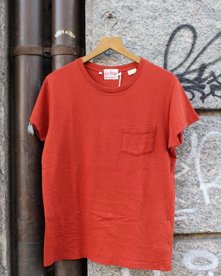 LVC 1950 T-Shirt Rundhals ziegelrot_1