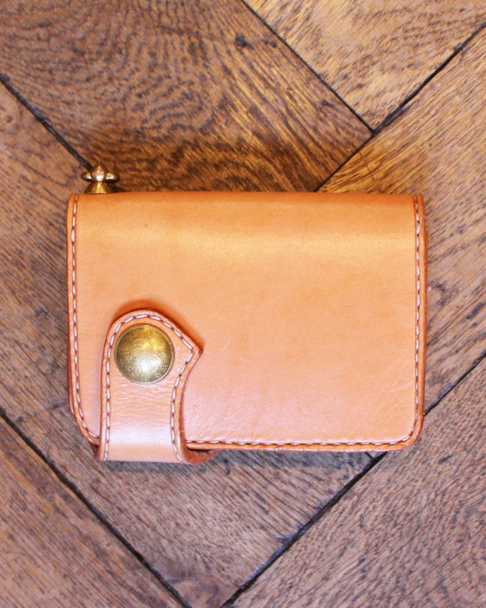 Red's Leather Medium Biker Wallet nature_1