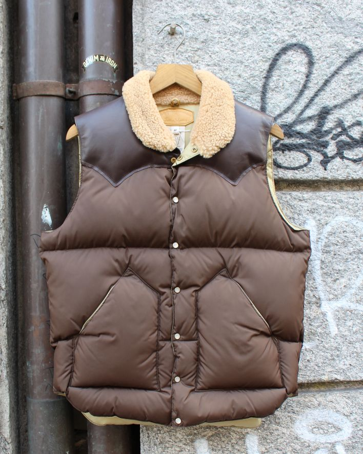 Rocky Mountain Featherbed Christy Vest brown_1