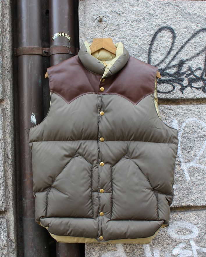 Rocky Mountain Featherbed Down Vest olive_1