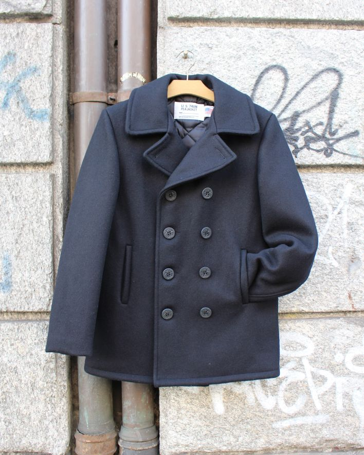 Schott Original Peacoat navy_1
