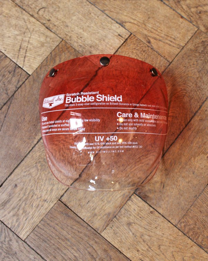Biltwell Bubble Shield red gradient 1