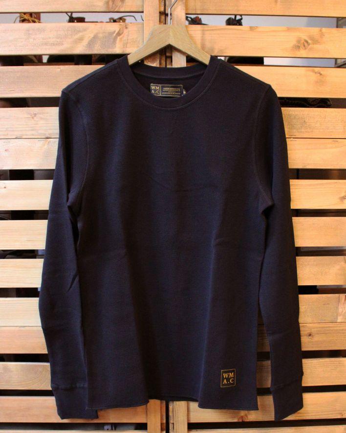Wrenchmonkees Waffel Shirt black korrigiert