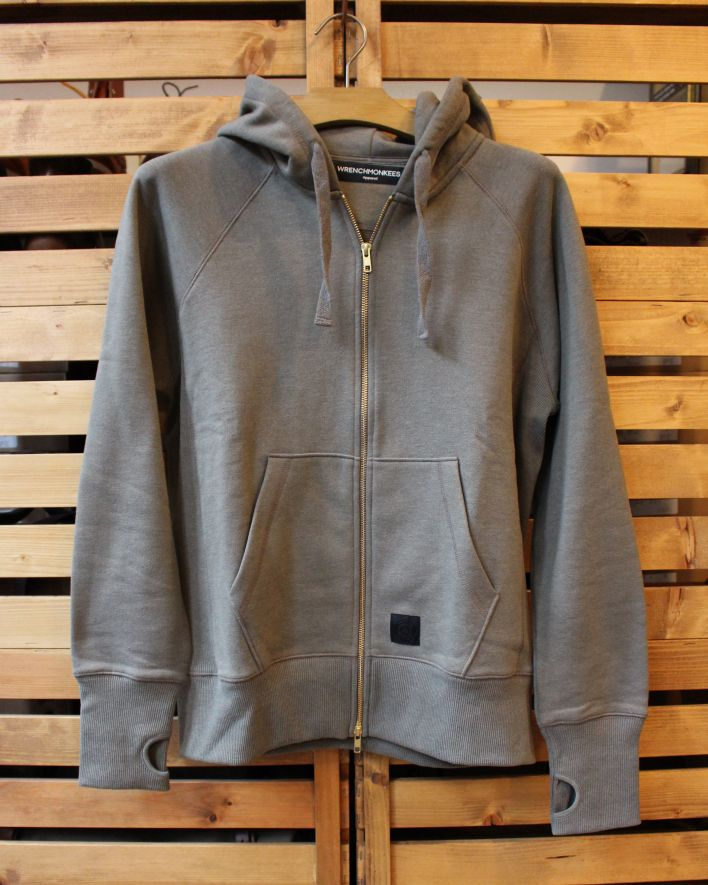 Wrenchmonkees Zip Sweater olive 1