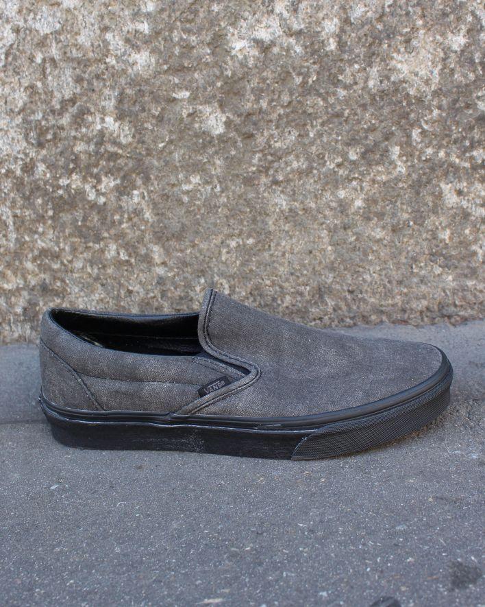 Vans Slip on Sneaker schwarz verwaschen_1