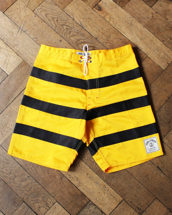 IRONANDRESIN REVIVAL BOARDSHORTS GOLD1