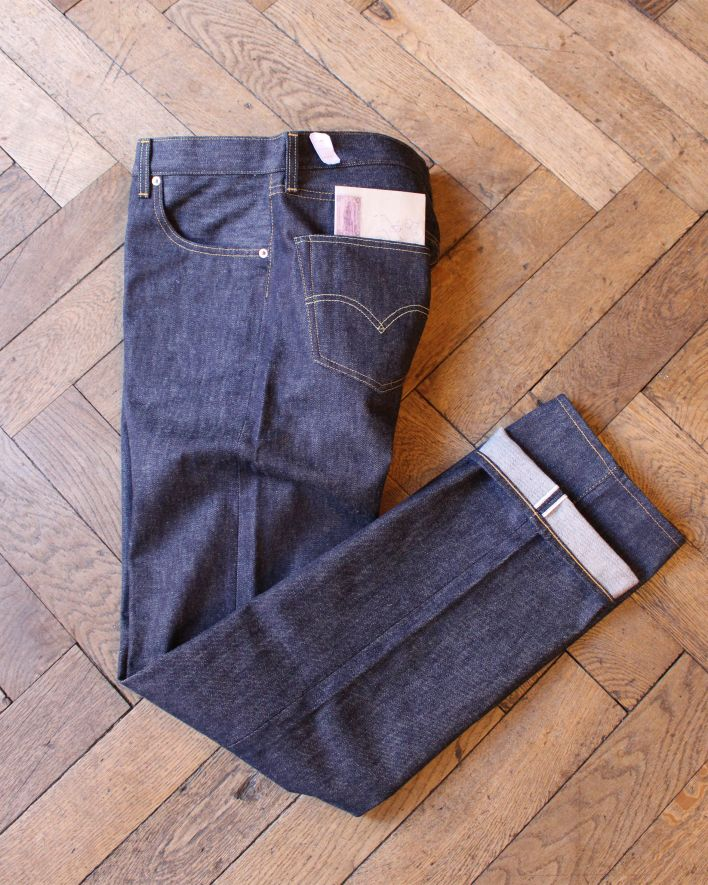 LVC 501 1955 raw denim_2