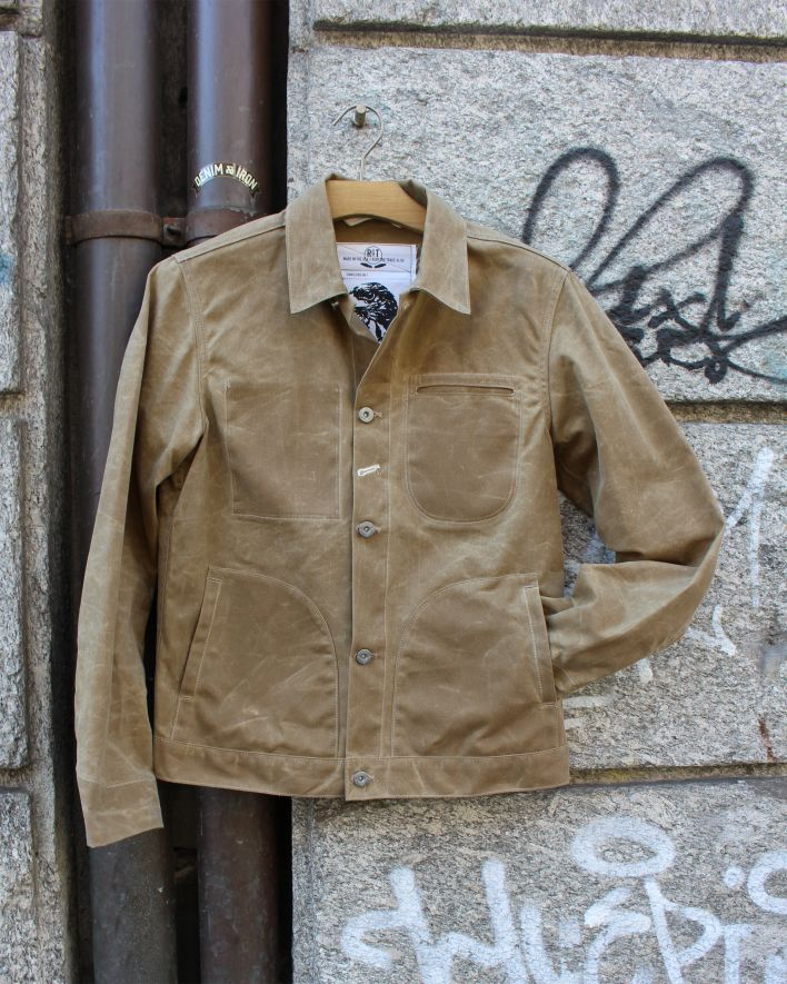 Rogue Territory Supply Jacket Ridgeline waxed canvas tan 1.1