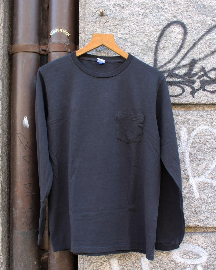 Velva Sheen Tubular Longsleeve with pocket black_1