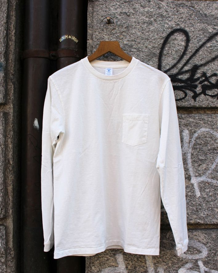Velva Sheen Tubular Longsleeve with pocket white_1
