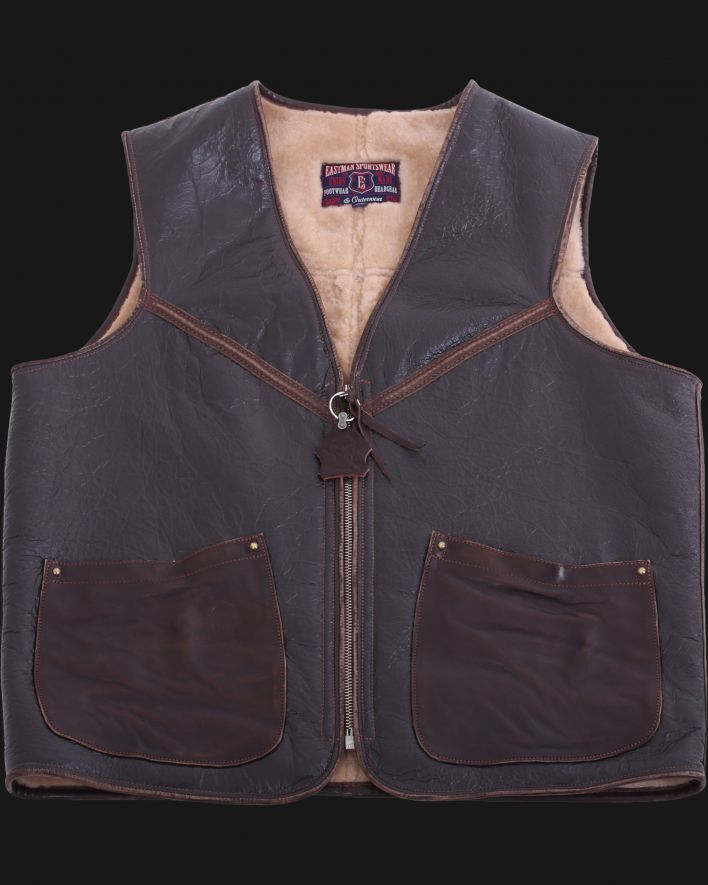 ELMC Flightvest vintage brown_1