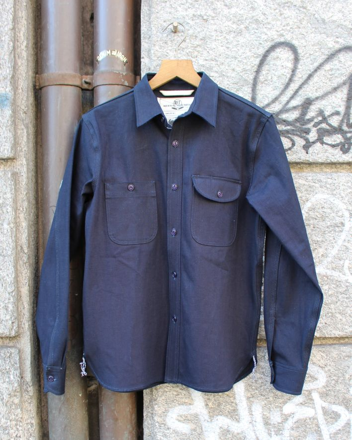 Rogue Territory Work Shirt ISC indigo selvage_1