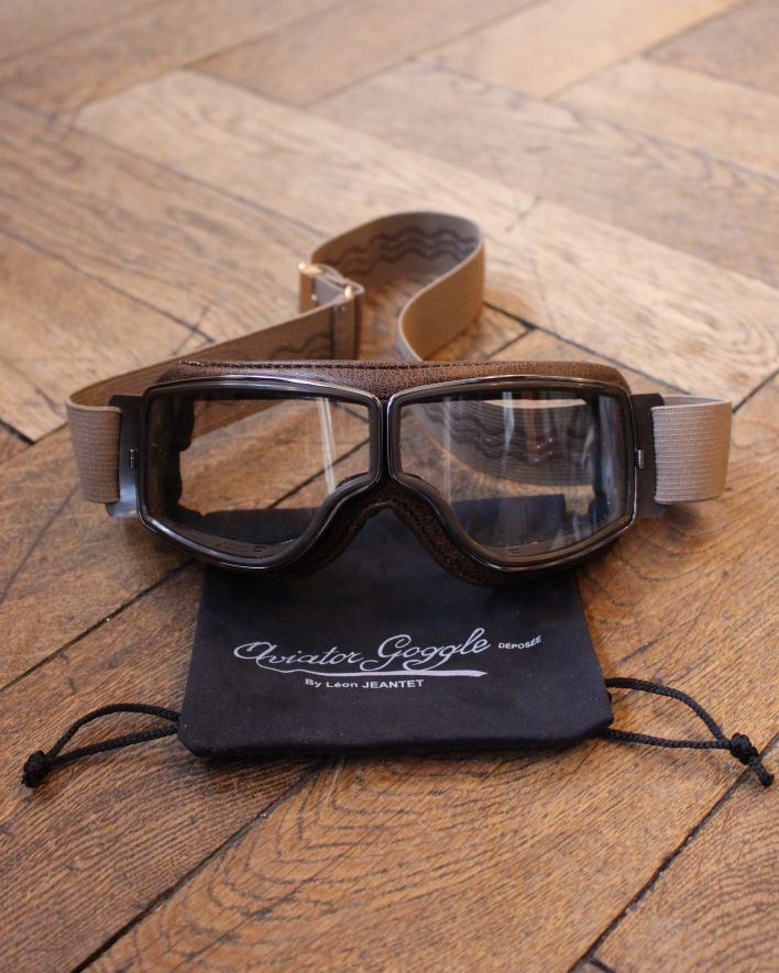 Aviator Goggles T2 brown gunmetal 1