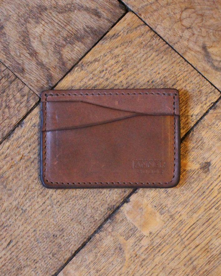 Tanner Goods Kreditkarten Brieftasche braun_1