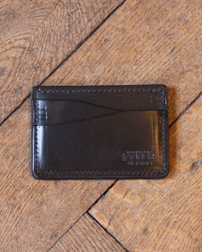 Tanner Goods Kreditkarten Brieftasche schwarz_1
