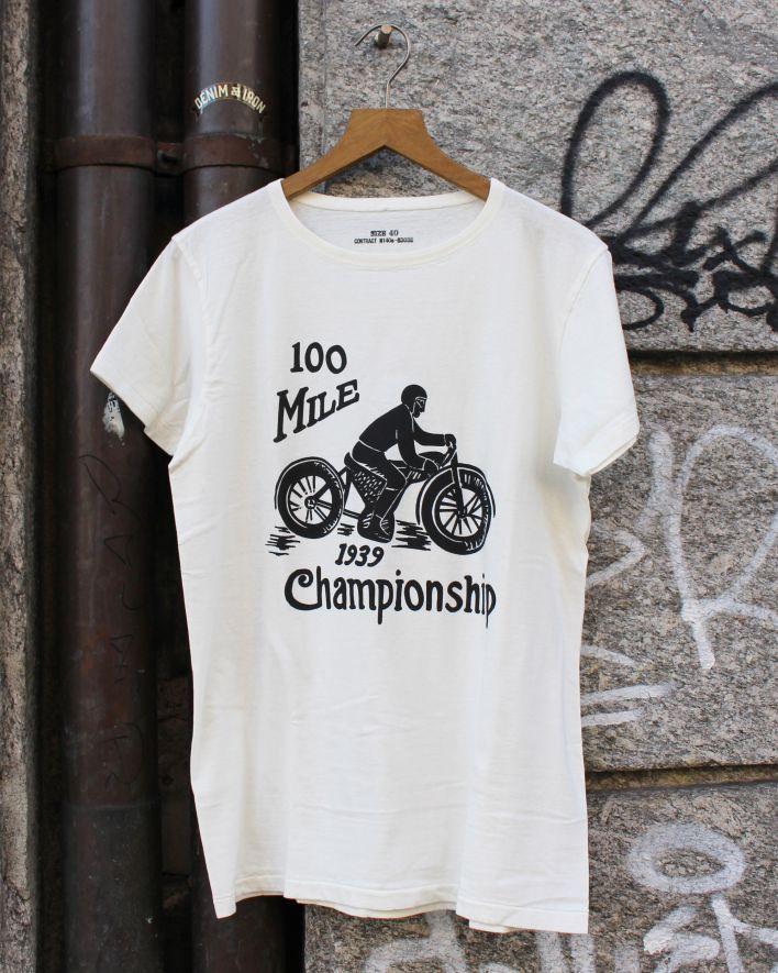 E.L.M.C. 100 Mile Championship T-Shirt ecru_1