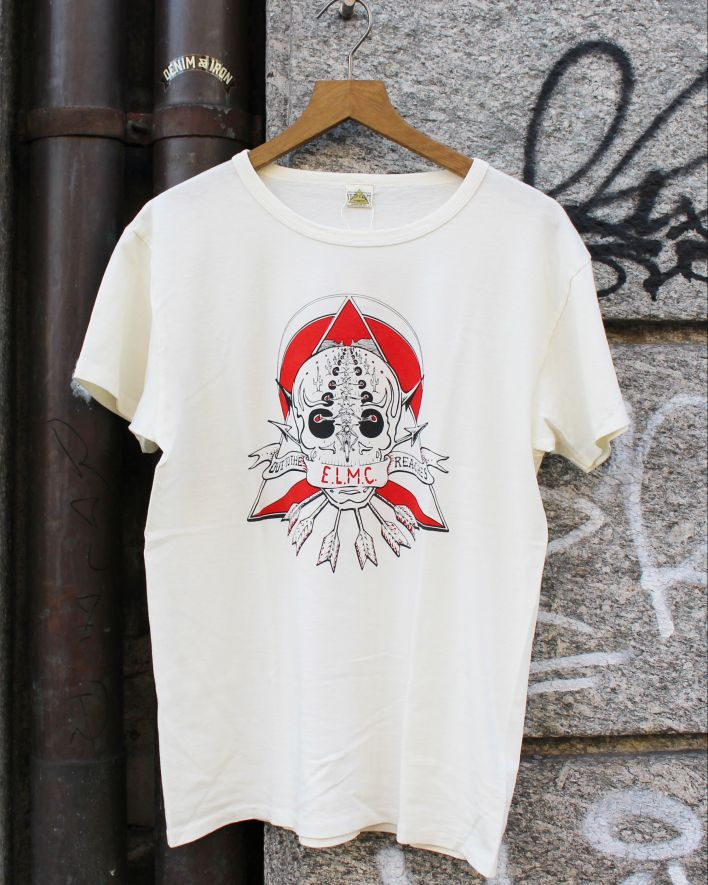 E.L.M.C. Out of the reaches T-Shirt Vintage offwhite_1