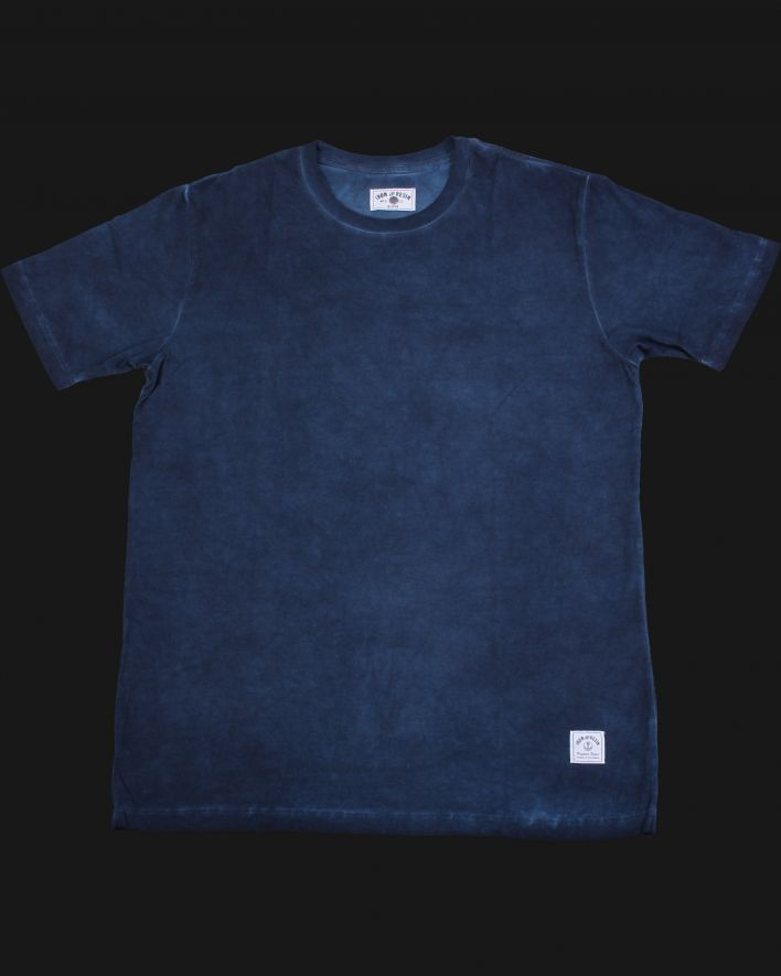 Iron & Resin Tide Tee indigo_1
