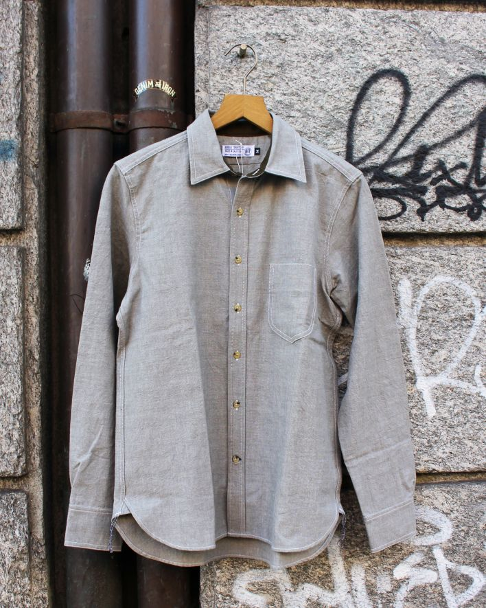 Rogue Territory Traveler Shirt grey_1