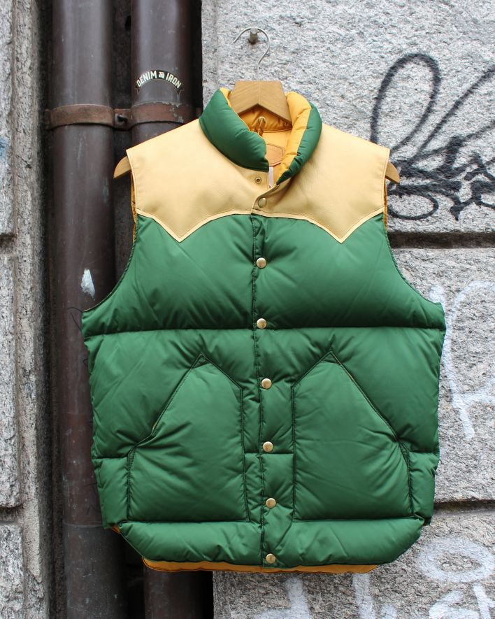 Rocky Mountain Down Vest bottle green_1.1
