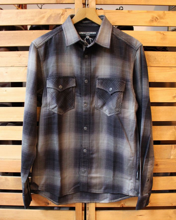 Wrenchmonkees Shady Check olive 1