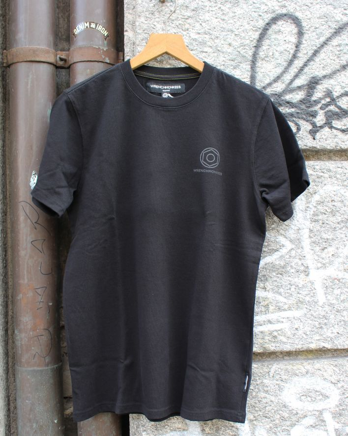 Wrenchmonkees Basic Tee Printed black_1