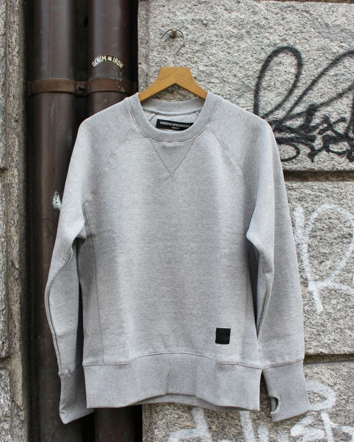 Wrenchmonkees Sweater grey_1