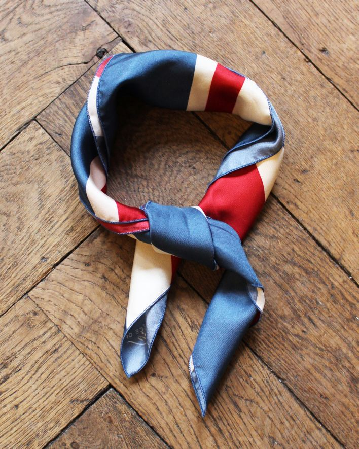 A Piece of Chic Bandana Union Jack Seide 50x50_1