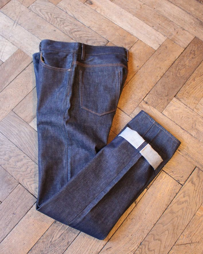Railcar James 13.75 oz raw denim_2