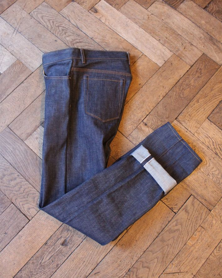 Railcar James 16.25 oz raw denim_2