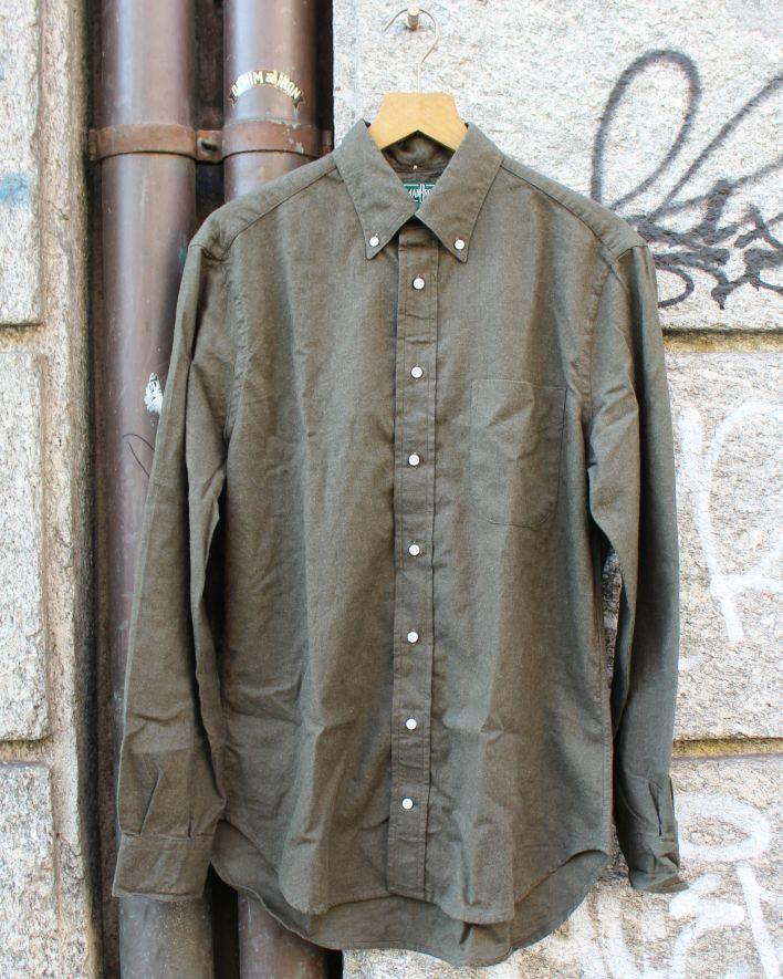 Gitman Brothers Vintage Flannel olive_1