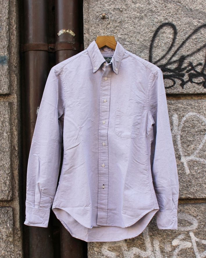Gitman Vintage Oxford Shirt grey_1