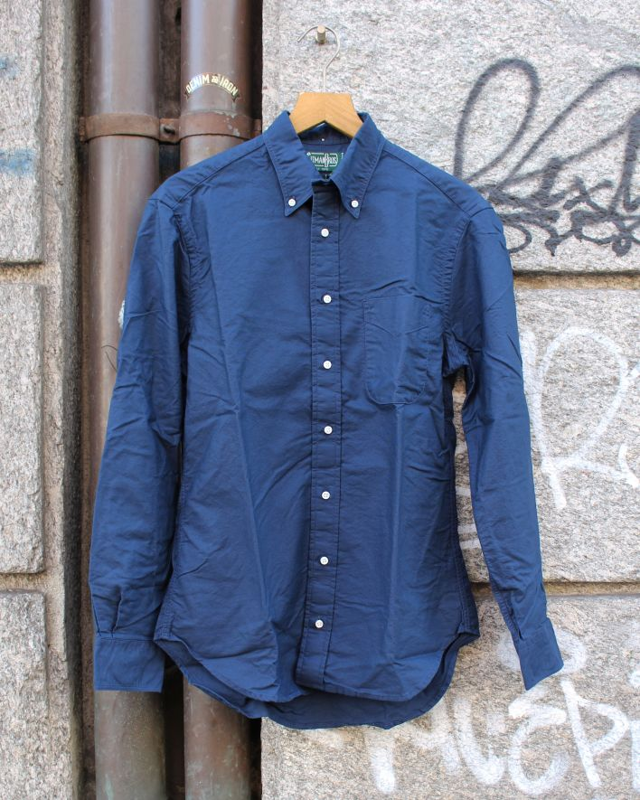 Gitman Vintage Oxford Shirt navy_1