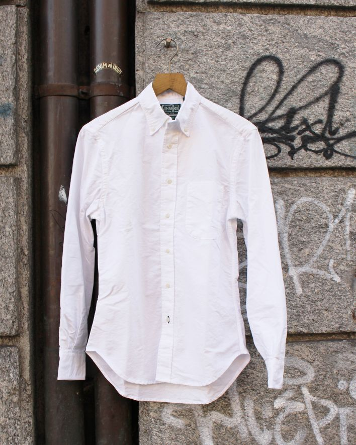 Gitman Vintage Oxford Shirt white_1