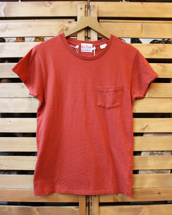 LVC 1950 T-Shirt Rundhals ziegelrot 1