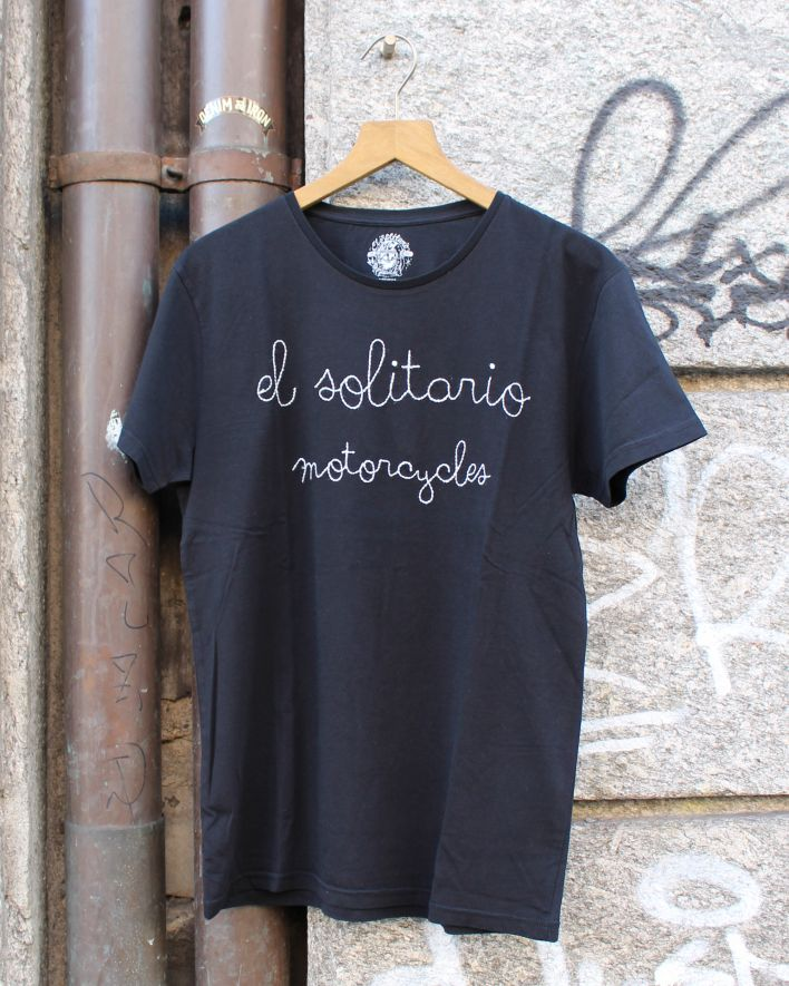 El Solitario Motorcycle T-Shirt black_1