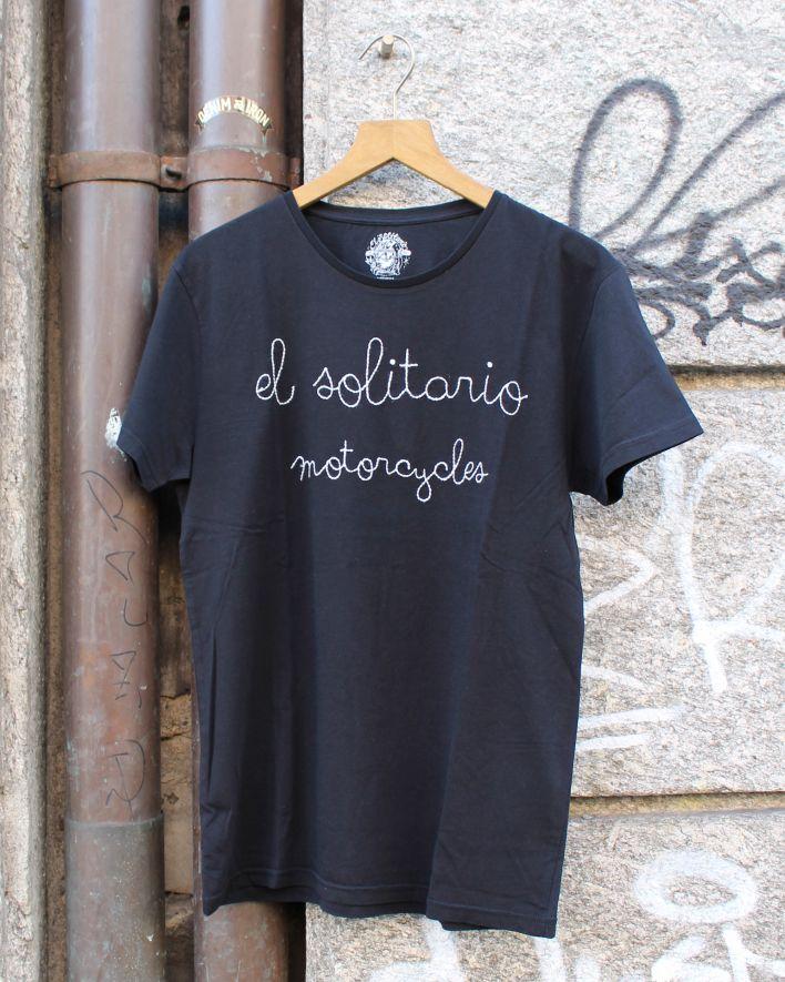 El Solitario Motorcycle T-Shirt black_1
