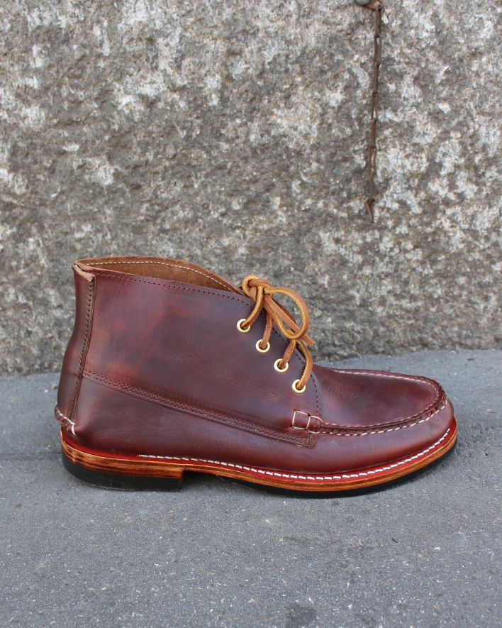 Maine Moccassin Dress Boot tan chromexcel_1