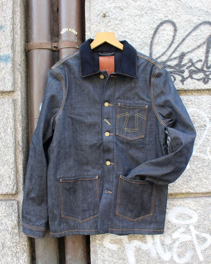 Eat Dust Denim Jacket indigo_1
