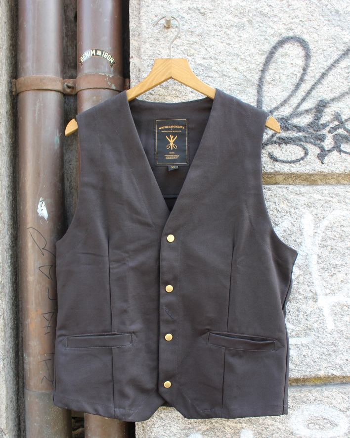 Wrenchmonkees Indoor Waistcoat black_1