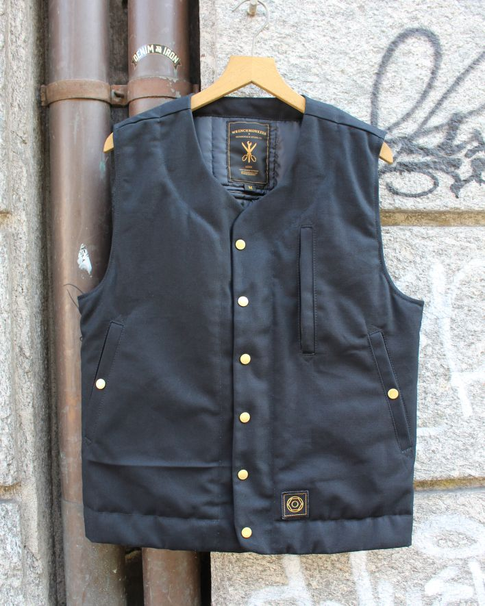 Wrenchmonkees MC Waistcoat black_1