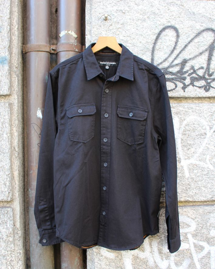 Wrenchmonkees Work Shirt black_1