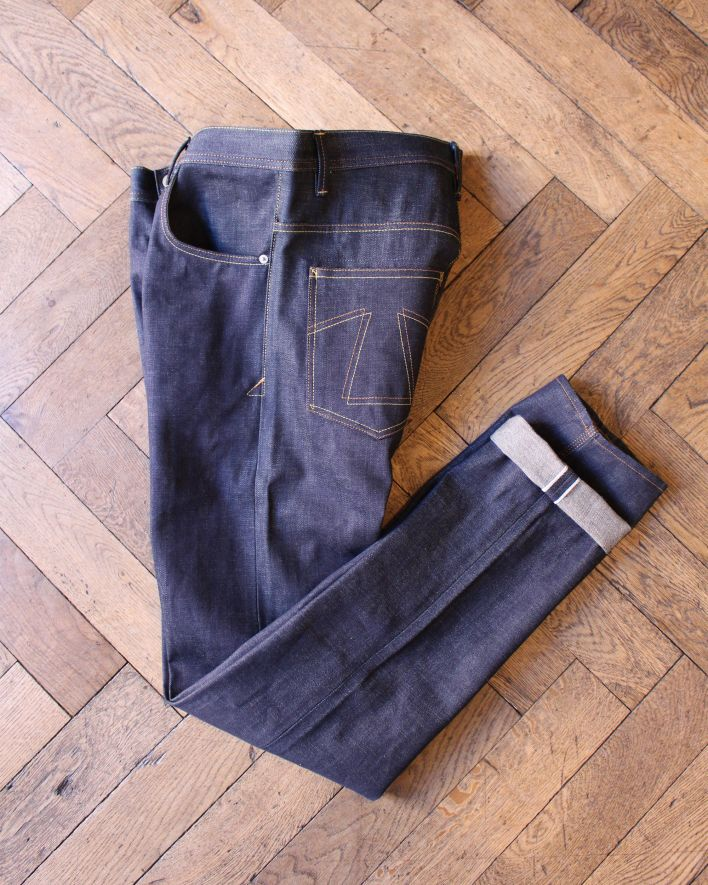 Eat Dust Fit 73 tapered Jeans raw indigo_2