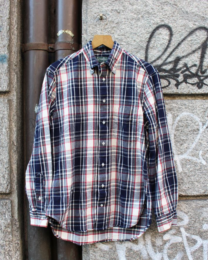 Gitman Brothers Vintage Plaid Flannel kariert_1
