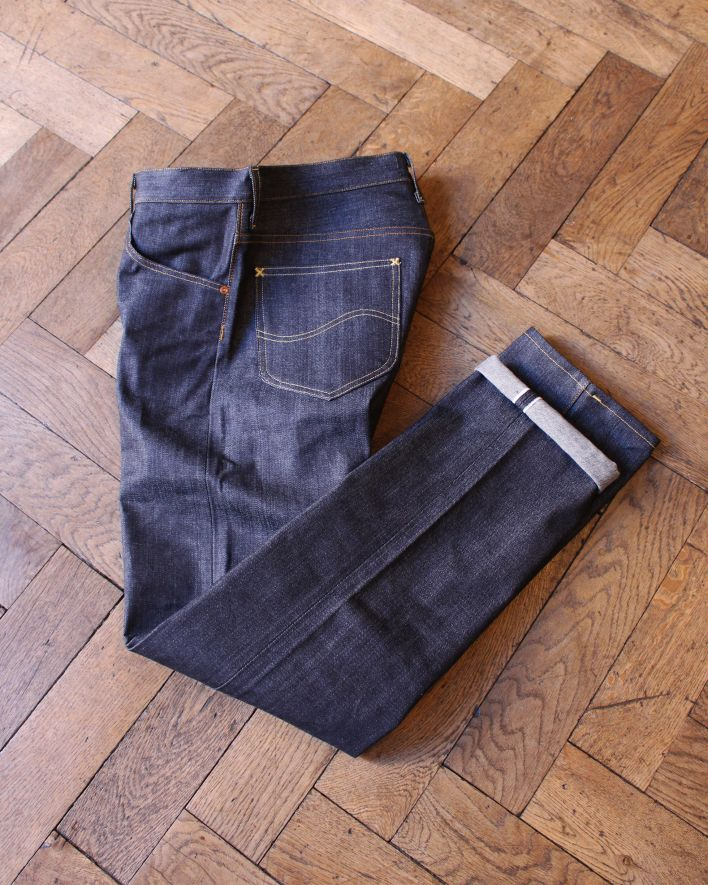 LEE 101 Z relaxed Fit Zipper raw denim_2