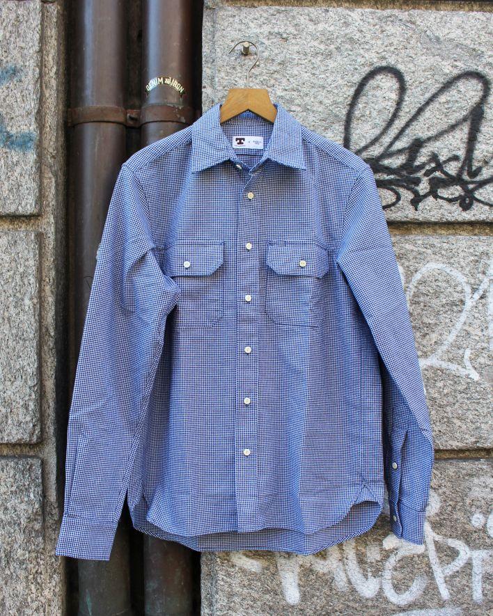 Tellason Clampdown Shirt pepita_1