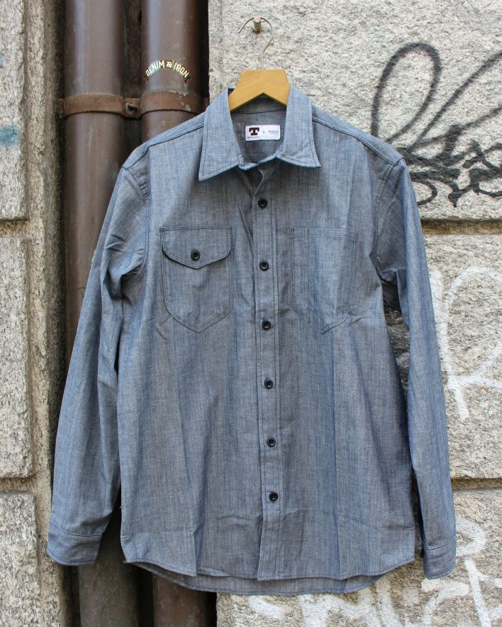 Tellason New Shirt Chambray blau_1
